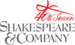 Shakespeare & Company 40th Season Logo