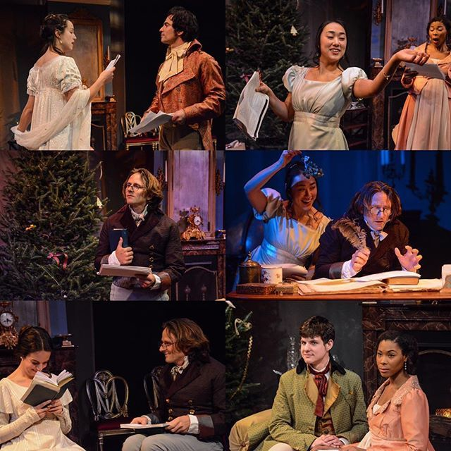 Miss Bennet: Christmas at Pemberley reading opens tonight! Break a leg! Tixs still available! Photos by Olivia Winslow