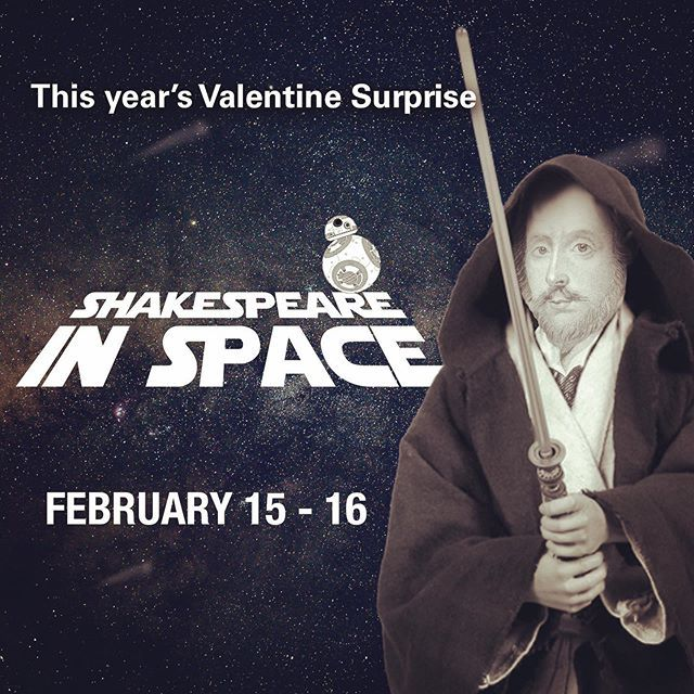 This year's Valentine Surprise looks at the Bard's influence on sci-fi! Join the fun February 15-16. #maythebardbewithyou