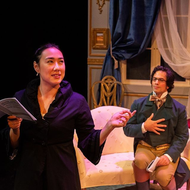 Looking back on Zoe Laiz and David Joseph rockin Sense and Sensibility last December.  @ekrwcreative catches that look! #intheberkshires