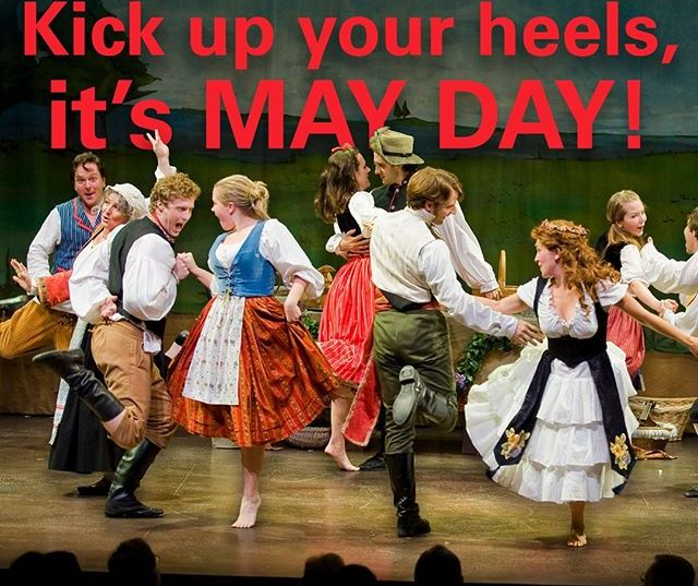 May Day (May 1) is a joyous holiday dating back to medieval times. It is a day to celebrate the return of spring. It is returning this year, right? (Dance from